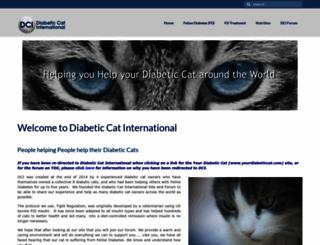 yourdiabeticcat.com screenshot