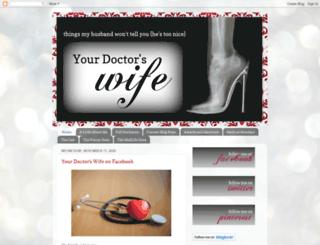 yourdoctorswife.com screenshot