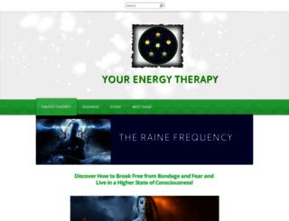 yourenergytherapy.com screenshot