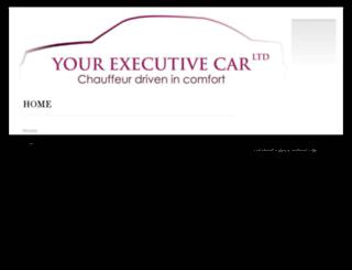 yourexecutivecar.co.uk screenshot