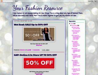 yourfashionresource.blogspot.com screenshot