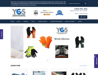 yourglovesource.com screenshot