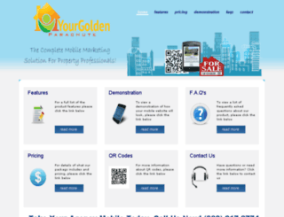 yourgoldenparachute.com screenshot