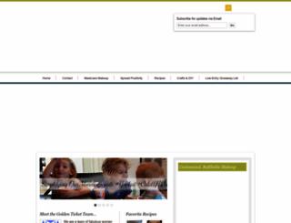 yourgoldenticketblog.com screenshot