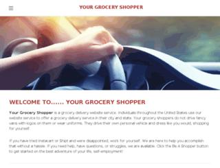 yourgroceryshopper.com screenshot