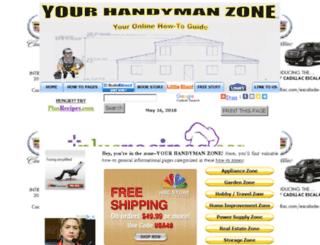 yourhandymanzone.com screenshot