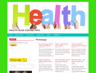 yourhealthblog.net screenshot