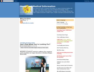 yourhealthinformation.blogspot.com screenshot