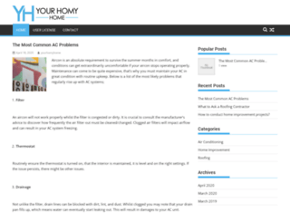 yourhomyhome.com screenshot