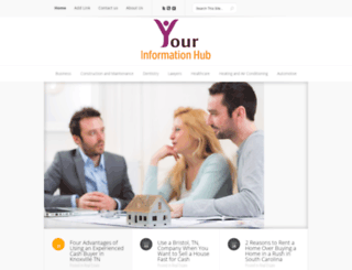 yourinformationhub.com screenshot