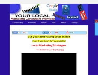 yourlocalmarketingconsultantwerribee.com screenshot