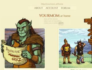 yourmom.at screenshot