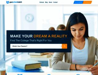 yourschoolmatch.com screenshot