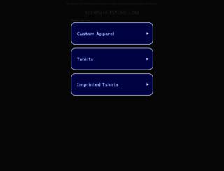 yourshirtstore.com screenshot