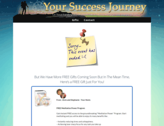 yoursuccessjourney.com screenshot