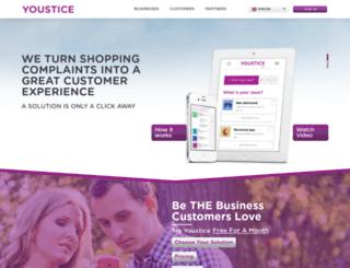 youstice.com screenshot