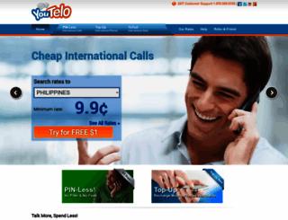 youtelo.com screenshot