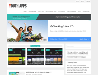 youthapps.in screenshot