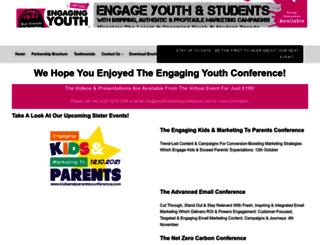 youthmarketingconference.com screenshot