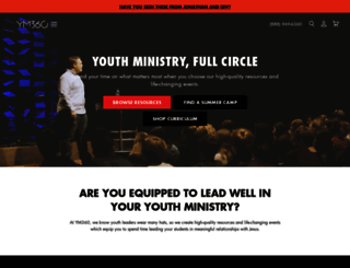 youthministry360.com screenshot