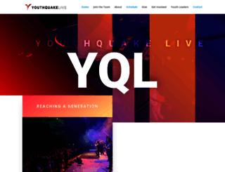 youthquakelive.com screenshot