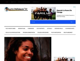 youthworkinit.com screenshot