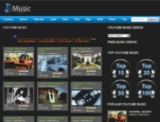 youtubemusic.net screenshot