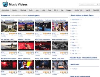 youtubemusicvideos.net screenshot