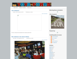 yoyaporras.blogspot.com screenshot