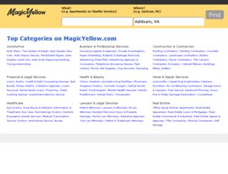 yp.magicyellow.com screenshot