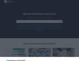 yrityksen-perustaminen.net screenshot