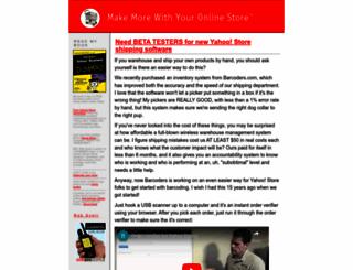 ystore.blogs.com screenshot
