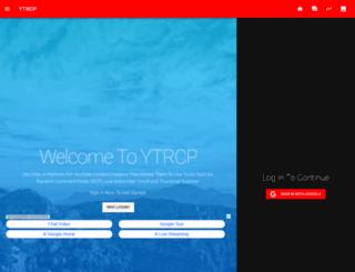 ytrcp.co screenshot