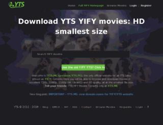 yts.me screenshot