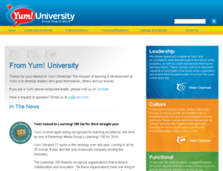 yu.yum.com screenshot