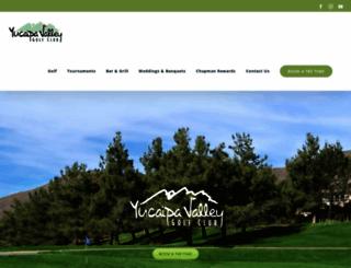 yucaipavalleygolf.com screenshot