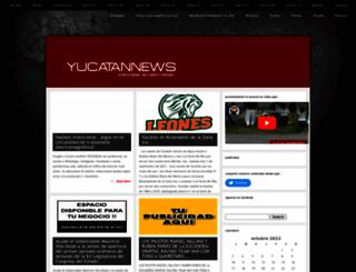 yucatannews.com.mx screenshot