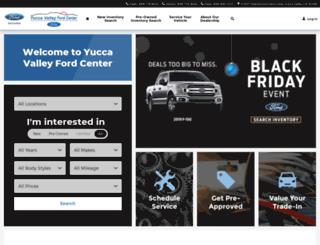 yuccavalleyford.com screenshot