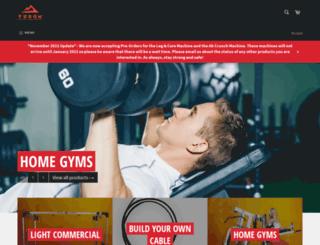 yukon-fitness.com screenshot