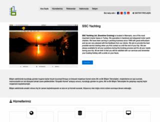 yukselyachting.com screenshot