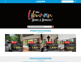 yuktravel.com screenshot