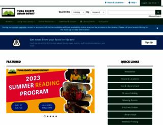 yumalibrary.org screenshot