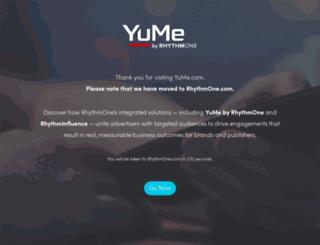 yume.com screenshot