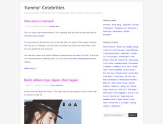 yummycelebrities.com screenshot