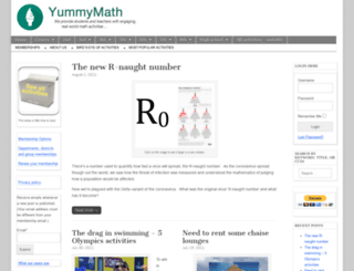 yummymath.com screenshot