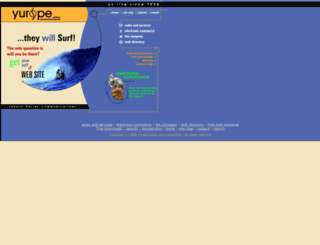 yurope.com screenshot