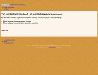 yusrestaurant.carry-out.com screenshot