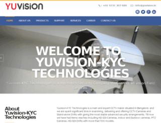 yuvision.in screenshot