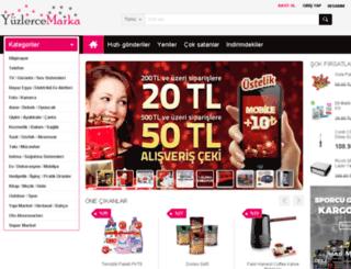yuzlercemarka.com screenshot