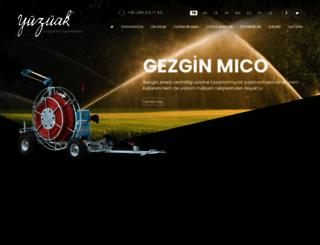 yuzuak.com screenshot